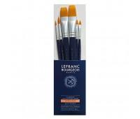Кисти в наборе Lefranc Fine Synthetic Brushes Set синтетика, 6 шт № 6, 12, 6, 12, 14, 16 арт 300234