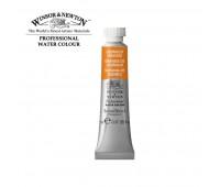 Краска акварельная Winsor Professional Water Colour, № 089, Cadmium Orange Кадмий оранжевый , Sr № арт 102089