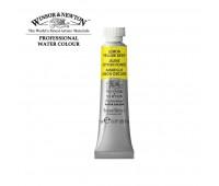 Краска акварельная Winsor Professional Water Colour, № 348, Lemon yellow deep Лимонный желтый темный арт 102348