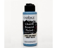 Акриловая краска Cadence для меловых досок Chalk Board Paint, 120 мл, Сіро-синій арт CB120_2580