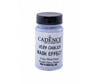 Cadence винтажная краска на акриловой основе Very chalky wash effect, 90 мл, Stale Grav Стальной серы арт WSH_10