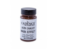 Cadence винтажная краска на акриловой основе Very chalky wash effect, 90 мл, Brown Коричневый арт WSH_12