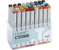 Маркеры COPIC в наборе Marker Basic серии, 36 шт арт 20075158