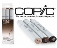 Маркеры Copic Sketch Set Blending Trio 7 3 шт 21075637