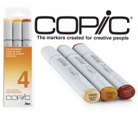Маркеры Copic Sketch Set Color Fusion 4 3 шт 21075654