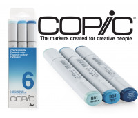 Маркеры Copic Sketch Set Color Fusion 6 3 шт 21075656