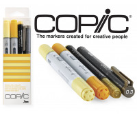 Маркеры Copic Ciao Set Doodle Pack Yellow 2+1+1 шт 22075642