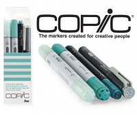 Маркеры Copic Ciao Set Doodle Pack Turquoise 2+1+1 шт 22075643