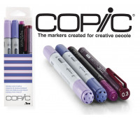 Маркеры Copic Ciao Set Doodle Pack Purple 2+1+1 шт 22075646