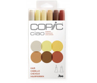 Маркеры Copic Ciao Set Hair  6 шт 22075668