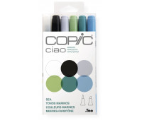 Маркеры Copic Ciao Set Sea 6 шт 22075669