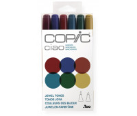 Маркеры Copic Ciao Set Jewel tones 6 шт 22075670