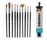 Кисти для гуаши в наборе Reeves Watercolour Set, 10 шт арт 8210519