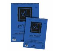 Canson альбом для акварели, на спирали XL Mix Media Medium грrain 300 гр, A5 15 арт 0001-872