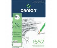 Canson альбом для нарисів на спіралі 1557 Croquis 120 гр, A4 50 арт 4127-418
