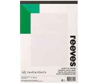 Reeves альбом для акрила A4, 190 гр, 15 л арт 8490951