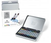 Маркеры акварельные Winsor Newton Wotercolor Markers Set, 12 шт 0290001