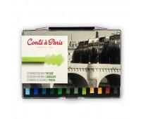 Набор пастели для пейзажа Conte Box 12 шт, 750130 Conte