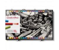 Пастельные мелки Conte мягкие Soft Pastel 40 шт. в наборе, 750209 Conte