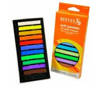 Набор мягкой пастели Reeves 12 цветов арт 8790125