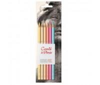 Набор пастельных карандашей Conte Portrait, 6 шт 750112