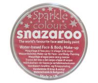 Краска для грима Snazaroo перламутова Sparkle 18 мл, Pink Рожевий арт 1118581