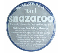 Краска для грима Snazaroo металік Metallic 18 мл, Silver Срібний арт 1118766