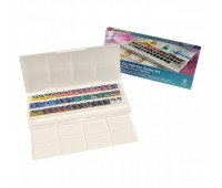 Акварельные краски Winsor & Newton 45 цветов в пластике
