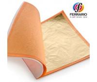 Поталь золото 2,5 APA Ferrario 10 000 листов 14х14 см - CO234800