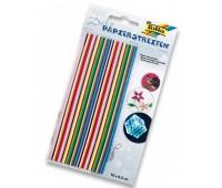 Набор бумаги для квилинга 16см.х0,03мм. (400 элементов, 20 цветов) 130гр/м2. (1290)