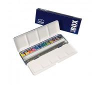 Winsor набор акварельных красок Cotman Blue Box, 12шт, 0390453