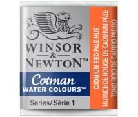 Акварельная краска Winsor Cotman, № 103 Бледно-красный кадмий арт 301103