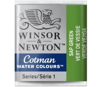 Акварельная краска Winsor Cotman, № 599 Зелень сушеная арт 301599