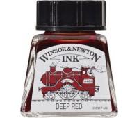 Туш Winsor & Newton, Drawing Inks 14 мл, № 227 Красный темный