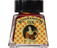 Туш Winsor & Newton, Drawing Inks 14 мл, № 449 Оранжевый