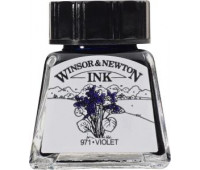 Туш Winsor & Newton, Drawing Inks 14 мл, № 688 Фиолетовая
