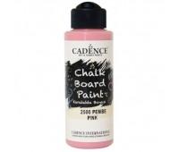 Акриловая краска Cadence для меловых досок Chalk Board Paint120 мл Розовая арт CB120_2500