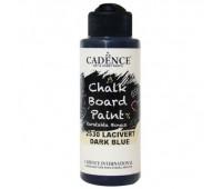 Акриловая краска Cadence для меловых досок Chalk Board Paint, 120 мл Темно-синий арт CB120_2530