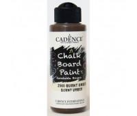 Акриловая краска Cadence для меловых досок Chalk Board Paint, 120 мл, Коричневая арт CB120_2560