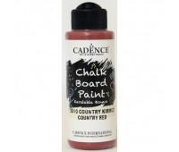 водн основая мел краска, Cadence Chalk Board Paint, 120 мл, Бордо арт CB120_2610