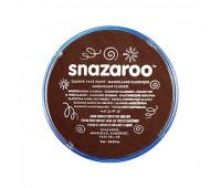 Краска для грима Snazaroo Classic 18 мл, Dark brown (Темно-коричневий)