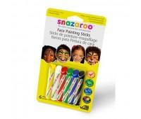 Краски для грима в наборе Unisex 6 face painting sticks set