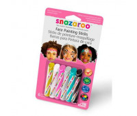 Краски для грима в наборе Girls 6 face painting sticks set