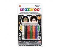 Краски для грима в наборе Halloween 6 face painting sticks set