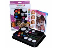 Краски для грима в наборе пензлик Ultimate Party Pack