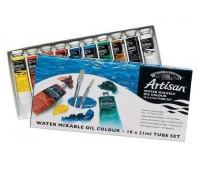 Масляные краски Winsor & Newton Artisan водорастворимые 10х21 мл