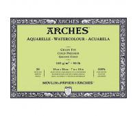 Альбом для акварели Arches холодной пресовки Arches Cold Pressed 185 гр/м2 18x26 см 20 листов