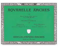 Альбом для акварели Arches холодной пресовки Arches Cold Pressed 300 гр/м2 10x25 см 20 листов