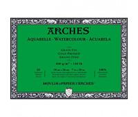 Альбом для акварели Arches холодной пресовки Arches Cold Pressed 300 гр/м2 18x26 см 20 листов