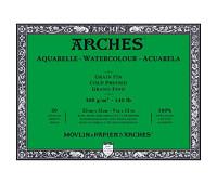 Альбом для акварели Arches холодной пресовки Arches Cold Pressed 300 гр/м2 23x31 см 20 листов